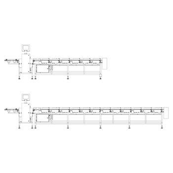 Схема сортировочных весов dwm-hps